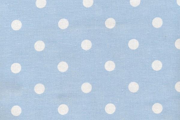 Wachstuch Dots Big Light Blue