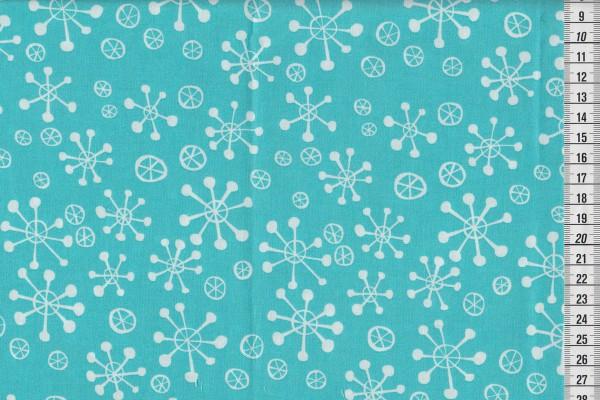 Winter Wonderland by David Walker Snow Flakes