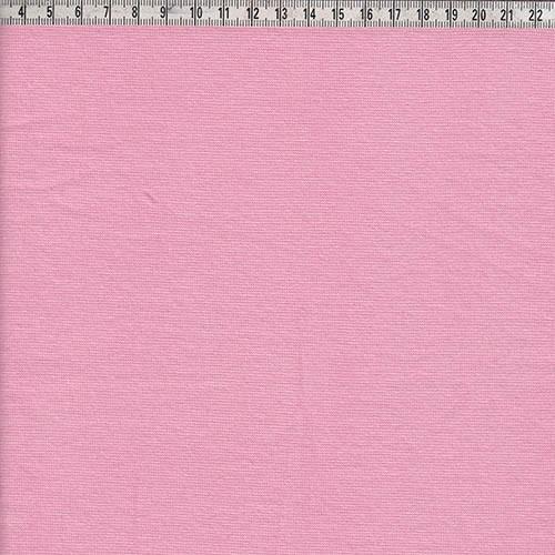 Bündchen glatt rosa