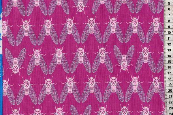 Raindrop Cicada Song Dark Plum by Rashida Coleman Hale