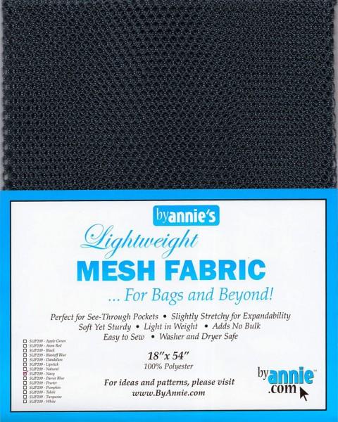 by annie's Mesh Fabric lightweight navy