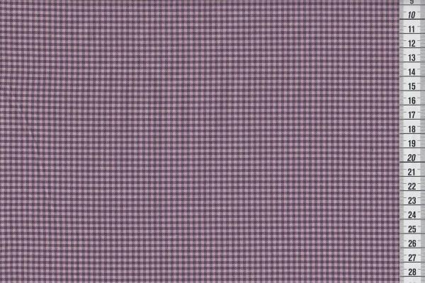 Westfalenstoff Torino Webstoff Vichykaro mauve violett