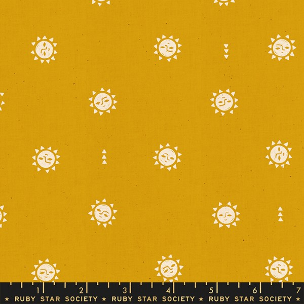 Ruby Star Society Golden Hour by Alexia Abegg Sunrise Goldenrod