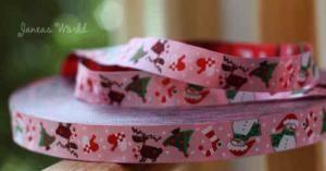 Webband Jul rosa