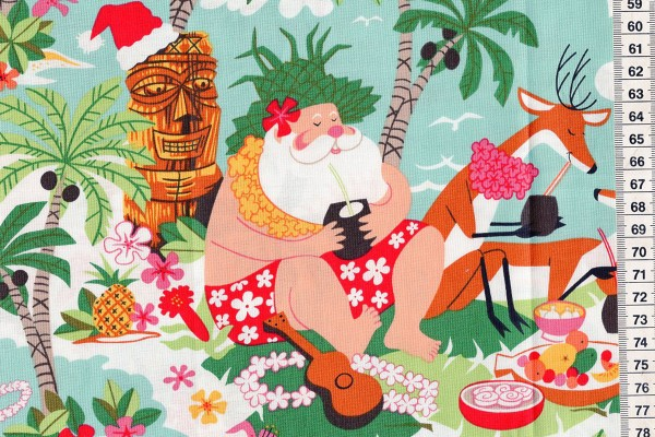 Alexander Henry Surfin Santa