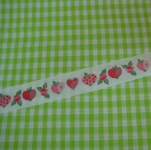 Webband Apfel und Rosen