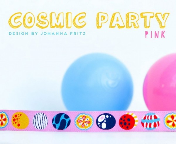 Cosmic Party Webband, pink