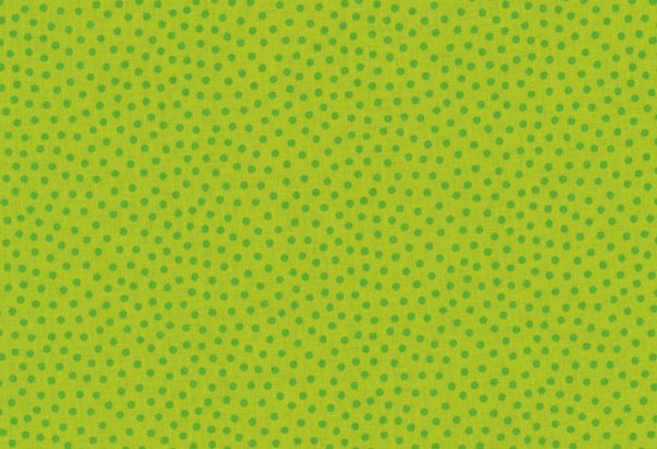 Westfalenstoff Junge Linie Punkte klein grün/grün