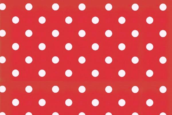 Westfalenstoffe Hamburg Punkte rot/weiß
