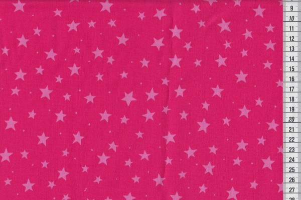 Junge Linie kbA Sterne pink