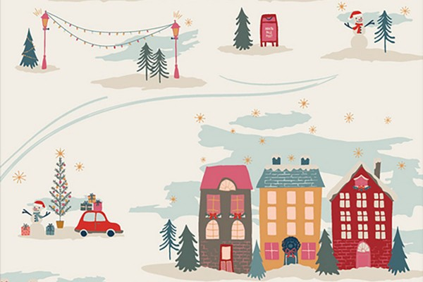 Maureen Cracknell Cozy and Magical Christmastide Town