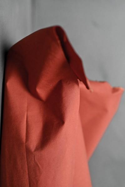 Gewachste Baumwolle (Dry Oilskin) rust