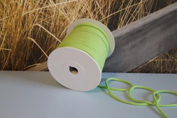 Baumwollkordel 6 mm hellgrün