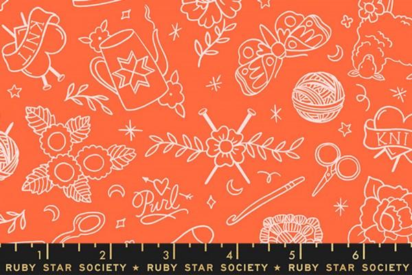 Ruby Star Society Purl by Sarah Watts Yarn Flash Florida