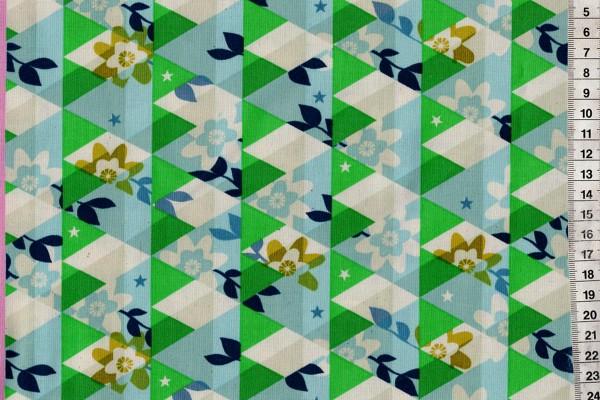 Flutter by Melody Miller Kaleidoscope green