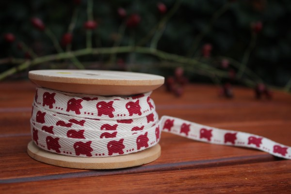 Weihnachts-Baumwollband bedruckt
