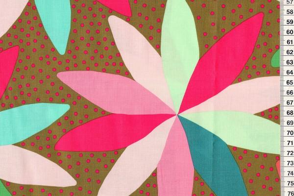 Anna Maria Horner Passionflower Cartwheel brown