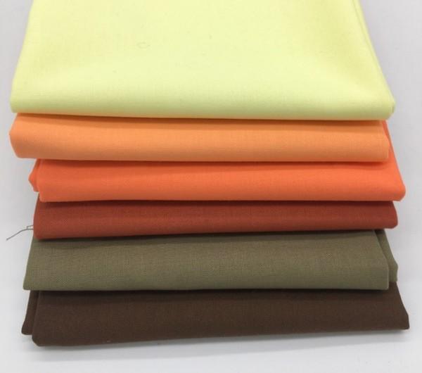 Fat Quarter Set Kona Cotton Solids earth