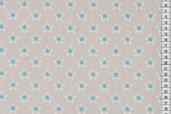 Dekostoff Shooting stars chambray