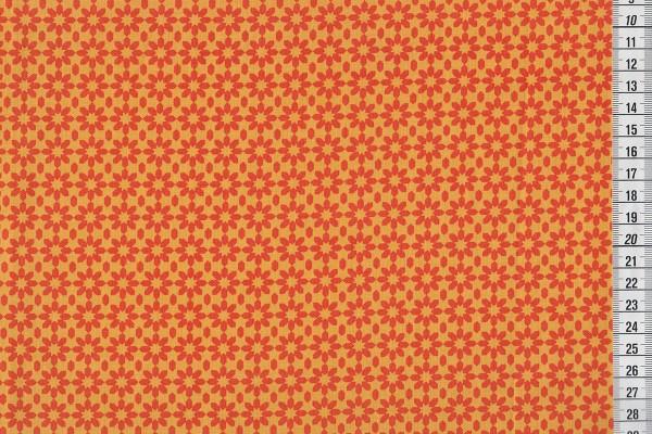 Uppercase Ice Floral orange
