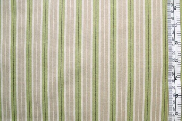 Westfalenstoff Linz Streifen beige grün