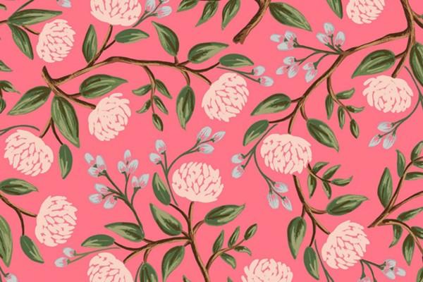 Wildwood Peonies pink