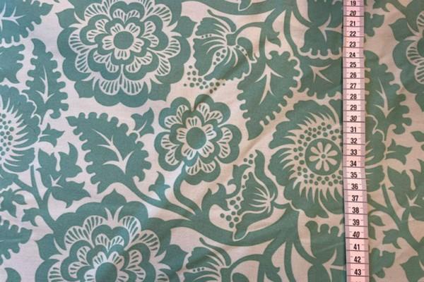 Joel Dewberry Heirloom Deco Blockprint Blossom Jade