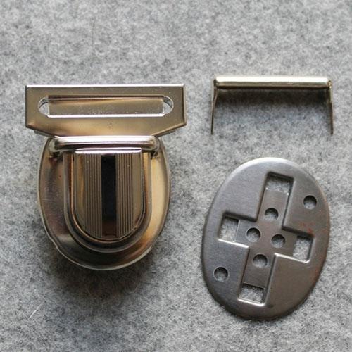 Mappenschloss Steckschloss 4,5cm*5,5cm