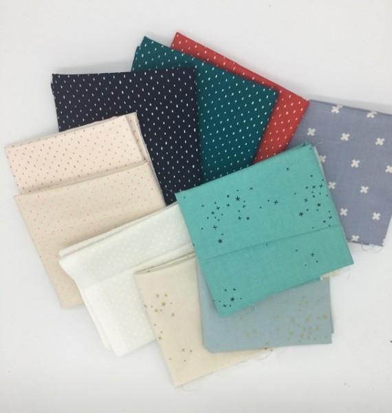Fat Quarter Set Basics Cotton and Steel