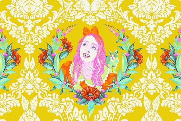 Tula Pink Curiouser and Curiouser Alice Sugar