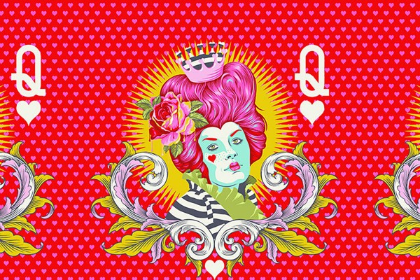 Tula Pink Curiouser and Curiouser The Red Queen Wonder