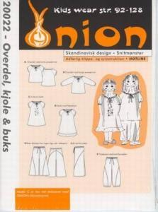 Onion Schnittmuster für Kinder 20022