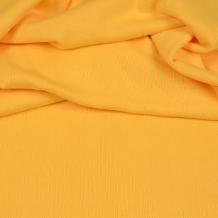Bündchenstrick gelb