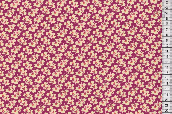 reststück Amy Butler Eternal Sunshine Pansies cerise