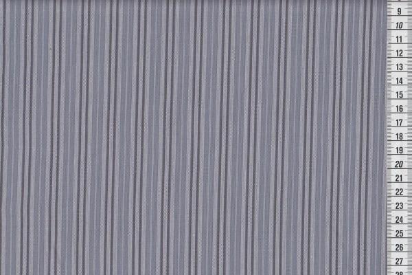 Westfalenstoffe Bergen Streifen anthrazit/grau