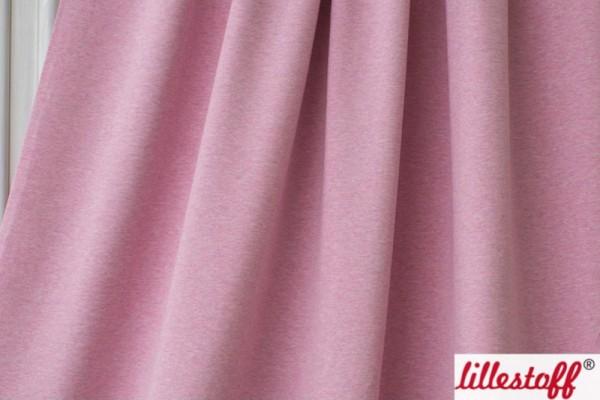 lillestoff Bio Stretchjersey rosa-meliert