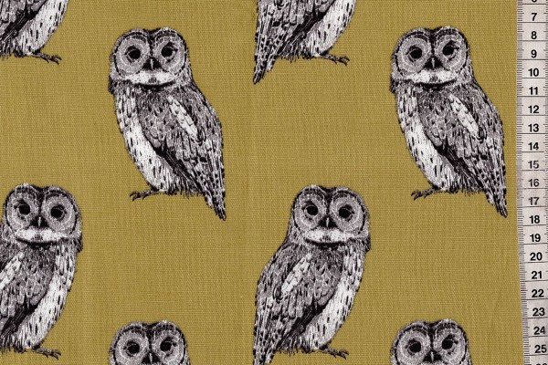 Dekostoff Owlet olive