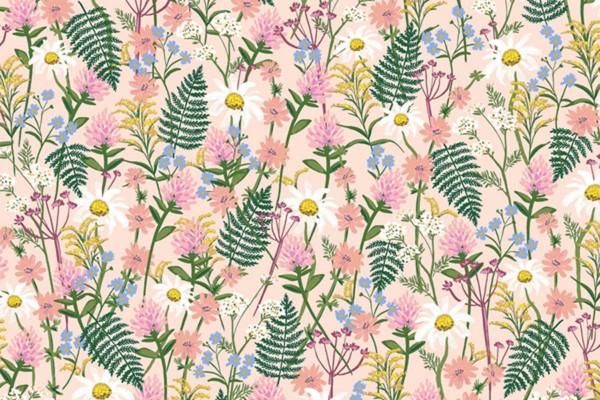Wildwood Wildflowers pink