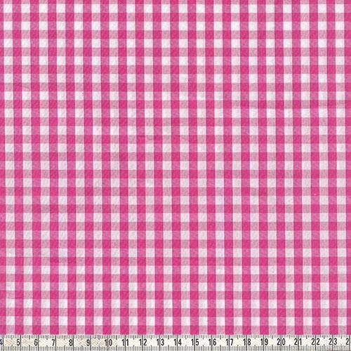 Karo pink/weiß