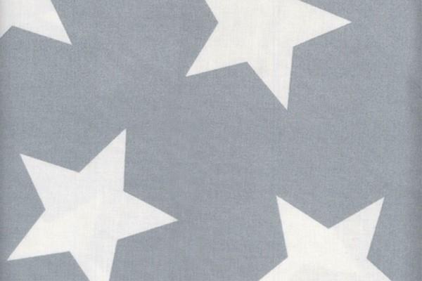Wachstuch Star giant dusty blue