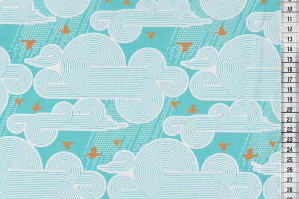 Joel Dewberry Atrium cumulus mint