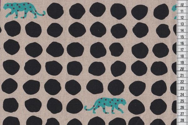 Echino Panther natur/schwarz