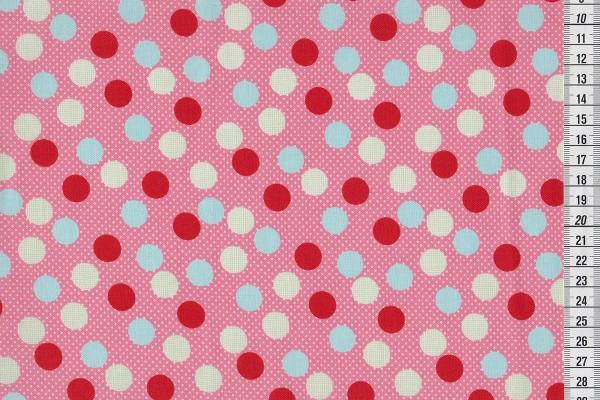 Kokka Dots pink