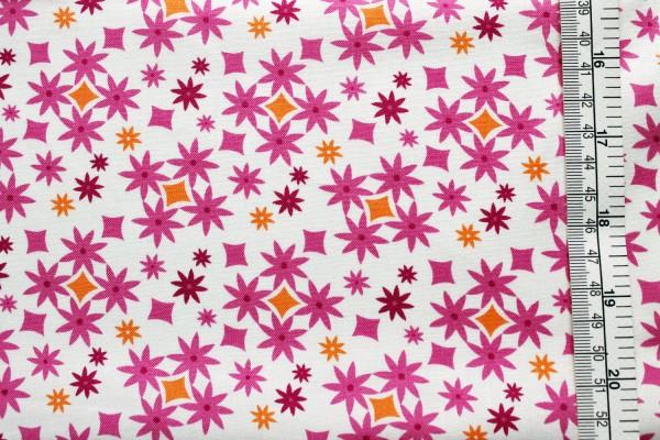 Kate Spain CUZCO fuchsia confetti flower