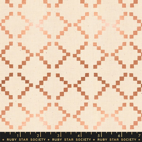 Ruby Star Society Golden Hour by Alexia Abegg Tile Copper metallic