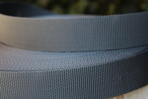 Gurtband blaugrau