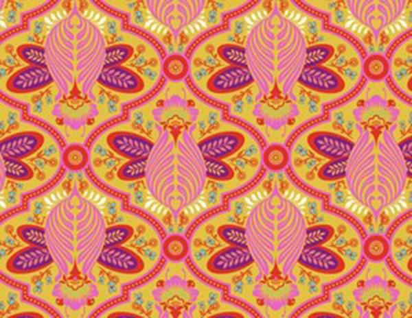 Tula Pink All Stars Bees Marigold