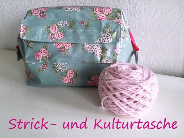 Anleitung Strick-Kulturtasche