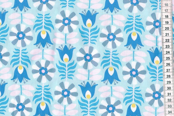 Midsommar by Pippa Shaw Retro tulip mint