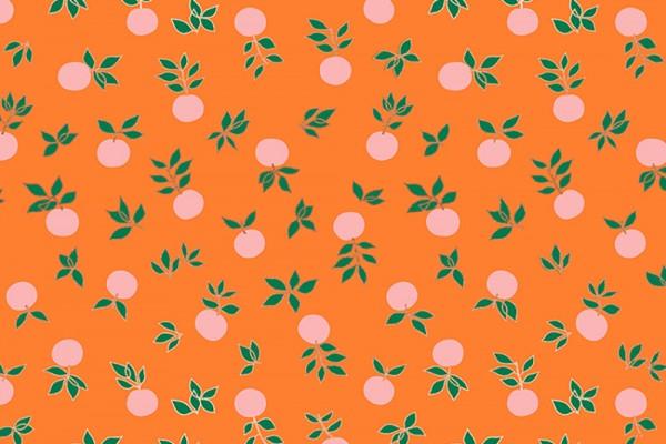 Ruby Star Society Stay Gold Melody Miller Blossom Blend Flower Botanical Orange